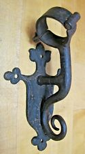 Antique Decorative Art Flag Pole Sign Post Holder Architectural Hardware Element