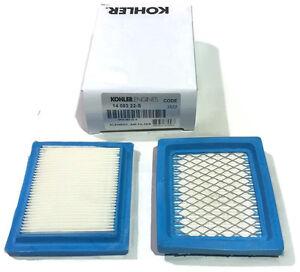2 Pack Kohler Genuine OEM 14 083 22S Air filter XT650 XT675