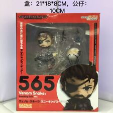 Anime Nendoroid Figure Toy Metal Gear Solid Venom Snake Action Figurine 10cm