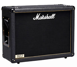 """Marshall 1922 150W 2x12"""" Guitar Amp Horizontal Extension Cabinet"""