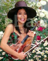 Vanessa Mae 10x8 Photo