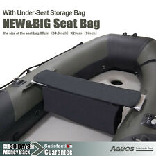 NEW & BIG Seat with Under-Seat Storage Bag Inflatable Boat Tender Dinghy