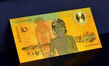 "★ AUSTRALIE / AUSTRALIA : BILLET POLYMER  "" OR "" DU 10 DOLLARS 1988 ABORIGENES"