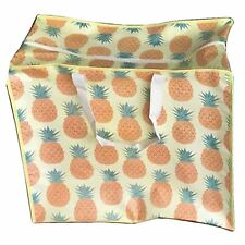 Pineapple Design Storage Laundry Bag 48cm High Toys Clothes Zipped