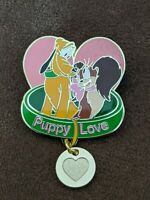 Disney Pin Trading Love Is Magical Puppy Love Pluto And Fifi LE250 Pin