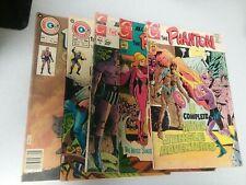 The Phantom 5 Issue Charlton Comics Lot Run Set Collection Lee Falk's bronze age