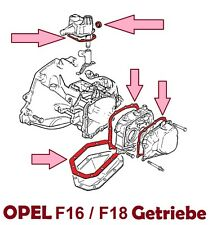 Dichtsatz OPEL Getriebe F16 / F18  ( C20XE, C20LET)