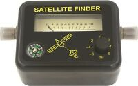 Analog Satellite Signal Strengh Dish Meter Finder Directv Dish Compass Fta