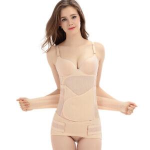 3 in 1 Postpartum Support Recovery Belt Belly/Waist/Pelvis Band Slim Body Shaper