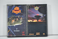 2 Night Ranger Dawn Patrol 1983 & 7 Wishes 1985 Cassette Tape Rock Hard Rock