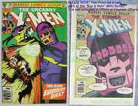 Uncanny X-Men #142 Days of Future Past CLASSIC COVER NEWSSTAND Variant + BONUS!