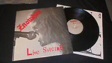 Znowhite – live suicide *RARE* 1st press USA 1986 vg+/vg+ tested LP vinyl