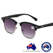Mens Ladies Magnifying Trendy Fashion Reading Tinted Sunglasses Glasses 6005