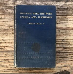HUNTING WILD LIFE WITH CAMERA & FLASHLIGHT, Inscribed by James Gurney, HC (1936)