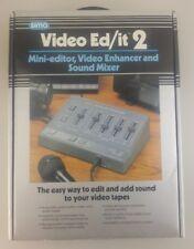Sima Video Ed/it 2 Mini Editor, Video Enhancer and Sound Mixer - NIB