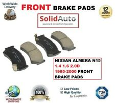 FOR NISSAN ALMERA N15 1.4 1.6 2.0D 1995-2000 FRONT BRAKE PADS OE QUALITY