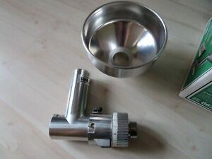 6879* Jupiter Getreidemühle-Vorsatz 862 800 ganz aus Metall in OVP