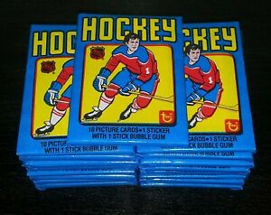 1979 HOCKEY Wax Pack pos psa 10 WAYNE GRETZKY rc Rookie Mint Unopened vintage