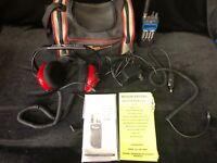 Uniden Sportcat SC200 Scanner/Racing Radio Model Sc200 With Headphones