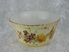 ANTIQUE ROYAL WORCESTER BLUSH IVORY BOWL - DATE CODE FOR 1900