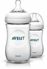 AVENT NATURAL FEEDING BOTTLE 260ML 2 PACK