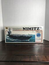 *Priced To Sell* Uss Nimitz Cvn-68 Motorized Model by Arii (1/800 scale)