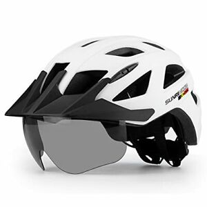 Adult High Performance Cycling Helmet With Rechargeable Rear Light