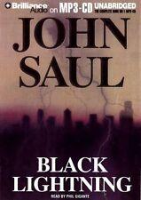 John SAUL / BLACK LIGHTNING         [ Audiobook ]