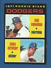 1971 Topps # 188 Bobby Valentine RC  L. A. Dodgers  EX+/MT  Additional ship free