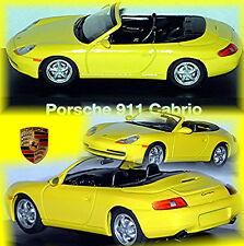 PORSCHE 911 Cabriolet Tipo: 996 - 1997-2006 GIALLO 1:43 SCHUCO