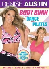 Denise Austin - Body Burn with Dance and Pilates (DVD, 2008) - NEW!!