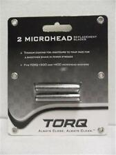 TORQ 2 Microhead Replacement Blades for T300 & T400 Titanium coating foil NEW