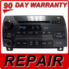 REPAIR SERVICE ONLY Toyota Tundra Sequoia Radio 6 Disc Changer CD Player JBL OEM