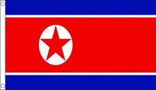 5' x 3' North Korea Flag Korean Country Flags Banner