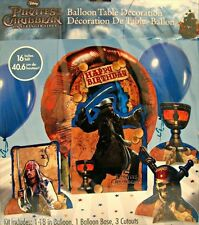 PIRATES of the CARIBBEAN BALLOON TABLE DECORATION KIT ~ Birthday Party Supplies