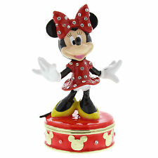 Disney Classic Trinket Box Ornament  - Minnie Mouse new in gift box   22167