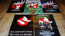 S.O.S FANTOMES ghostbusters 1.2   ! rare  5 affiches cinema