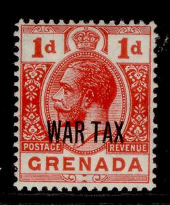 GRENADA GV SG111, 1d scarlet, NH MINT.