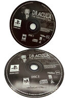 PS1 Dracula The Resurrection Video Game Sony PlayStation 1 Tested Discs Only