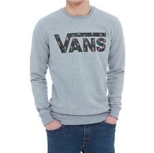 Vans Classic Crew Grey Fleece Sweatshirt (XL)