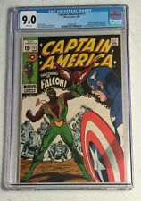 CAPTAIN AMERICA  #117 CGC 9.0  1st APPEARANCE OF THE FALCON - White Pages