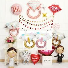 Diamond Ring Foil Balloon Wedding Engagement Birthday Party Decoration