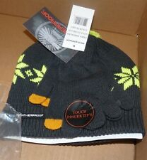 NEW Weatherproof Youth Boys 8-20 Snowflake Winter Hat Cap Knit Pom Gloves NWT