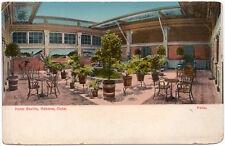 Postcard Patio at Hotel Sevilla in Habana, Cuba~105597