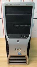 DELL PRECISION T3500 XEON W3550 Quad Core @ 3.07GHz 8GB RAM 500 HDD Win10 Pro