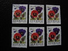 SUEDE - timbre yvert et tellier n° 1982 x6 obl (A29) stamp sweden