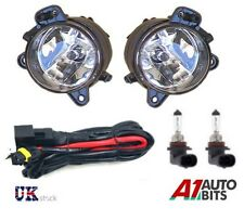 VW POLO 9N3 MK5 2006-2009 SPOT FOG LIGHTS LAMPS PAIR SET O/S & N/S + WIRING KIT