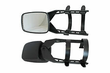2 x Van Bus Car Caravan Glass Extension Towing Wing Side Mirrors 155mm x 108mm