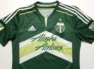 2014 Portland Timbers Valentin #16 Adidas AdiZero MLS Soccer Medium Jersey
