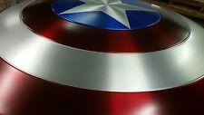 Captain America Shield Aluminum Metal